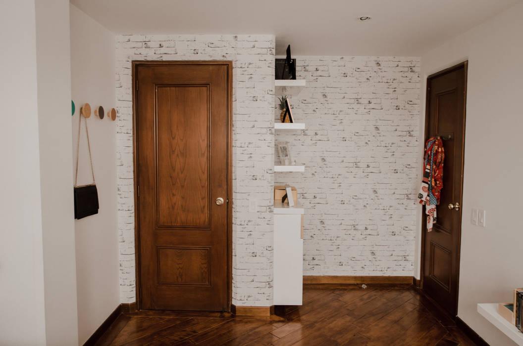 Cuarto Piña: Habitaciones de estilo  por Redesign Studio, Moderno