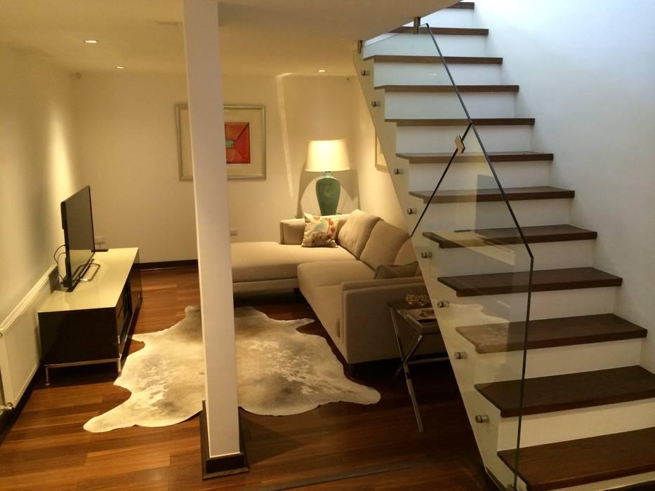 casa unifamiliar: Casas de estilo  por PICHARA + RIOS arquitectos