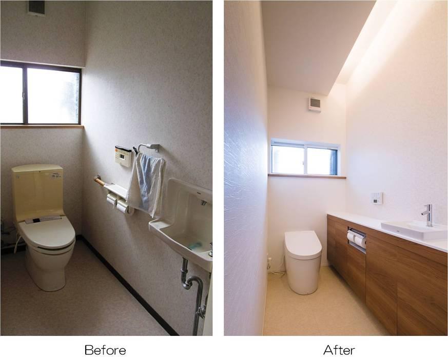 岩出の改修: Studio REI 一級建築士事務所が手掛けた浴室です。,オリジナル