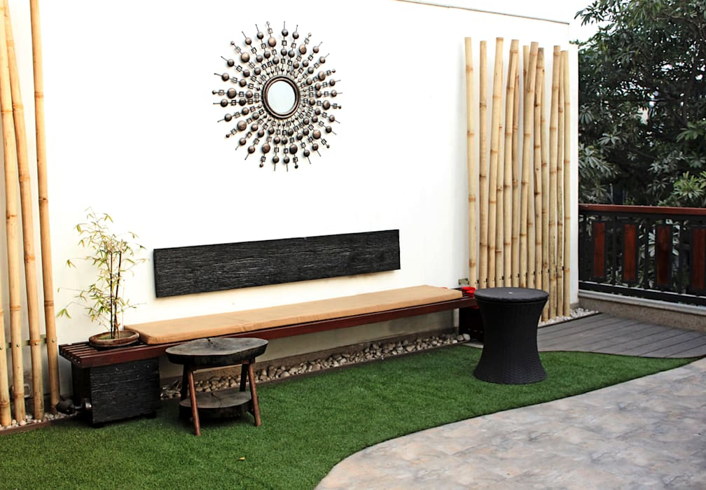 Roof garden 根據 Grecor 現代風