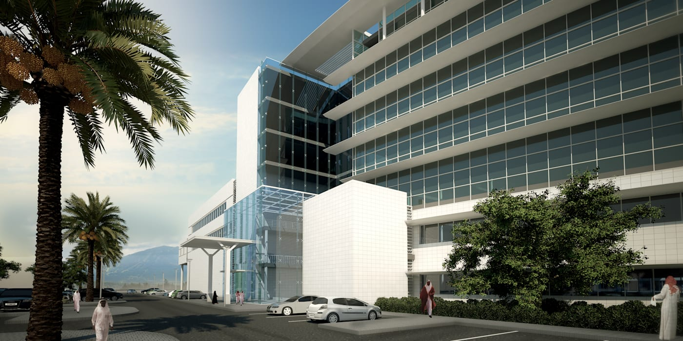 Hospitals by SPACES Architects Planners Engineers