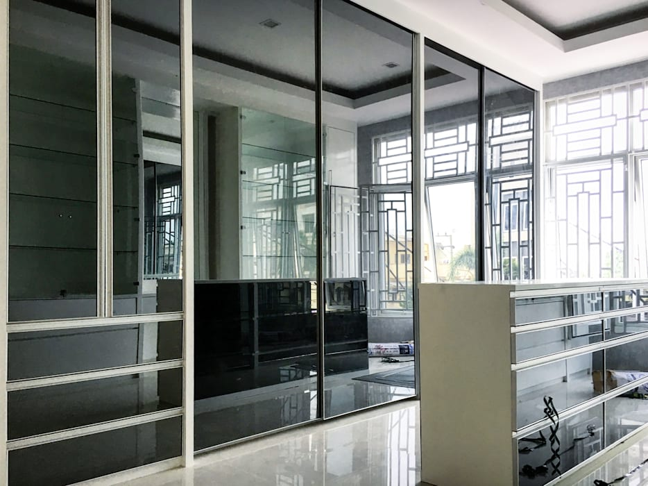 J Megaland, Pematangsiantar City Ruang Ganti Minimalis Oleh Lighthouse Architect Indonesia Minimalis