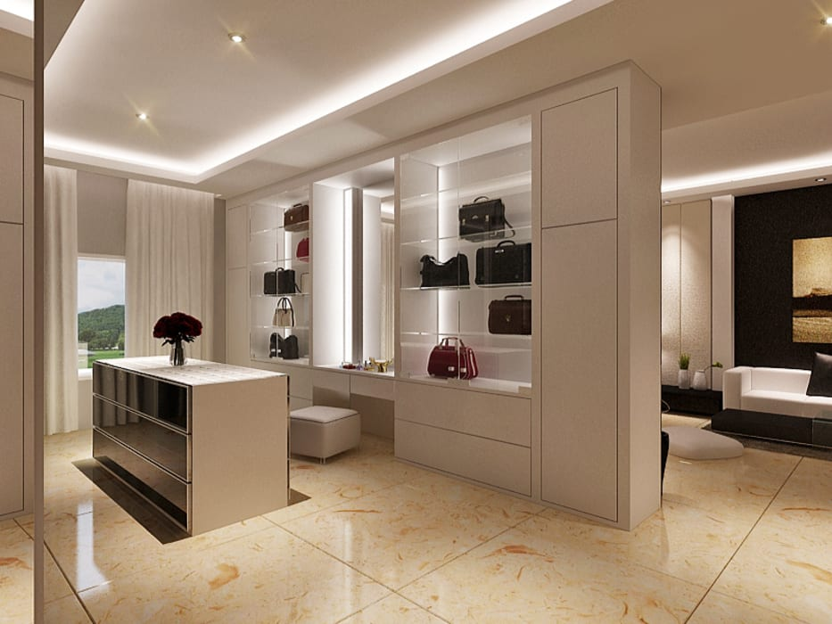 Master Room Design Concept Ruang Ganti Minimalis Oleh Lighthouse Architect Indonesia Minimalis