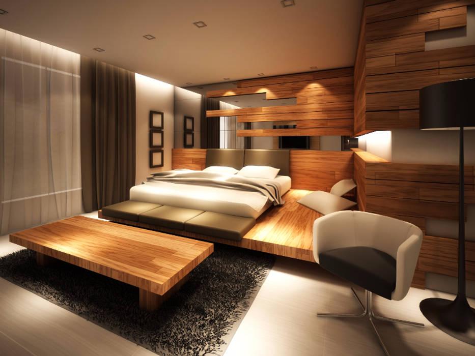 Master Room Kamar Tidur Minimalis Oleh Lighthouse Architect Indonesia Minimalis