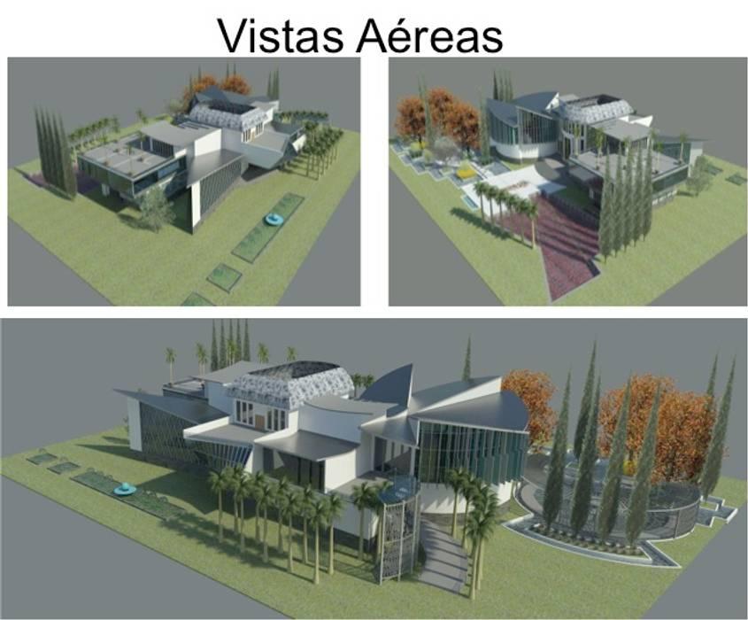 FACHADAS DE LA VIVIENDA: Casas de estilo  por ESTUDIO KULUMAK