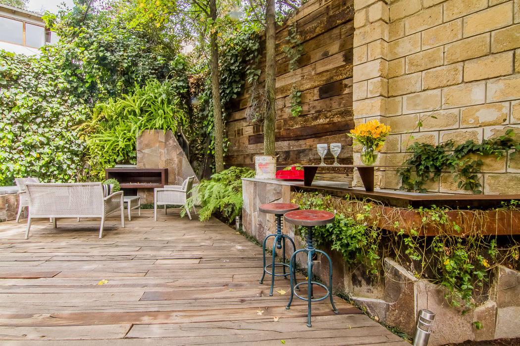 JARDÍN DE DURMIENTES: Jardines de estilo  por HDA: ARQUITECTURA BIOCLIMATICA
