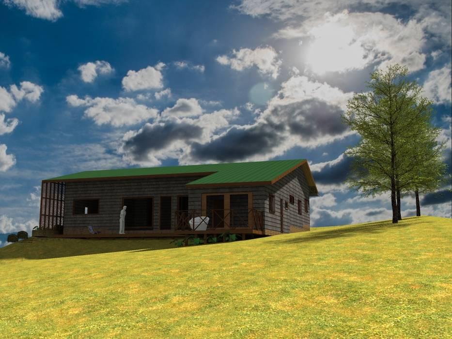 by casa rural - Arquitectos en Coyhaique Country