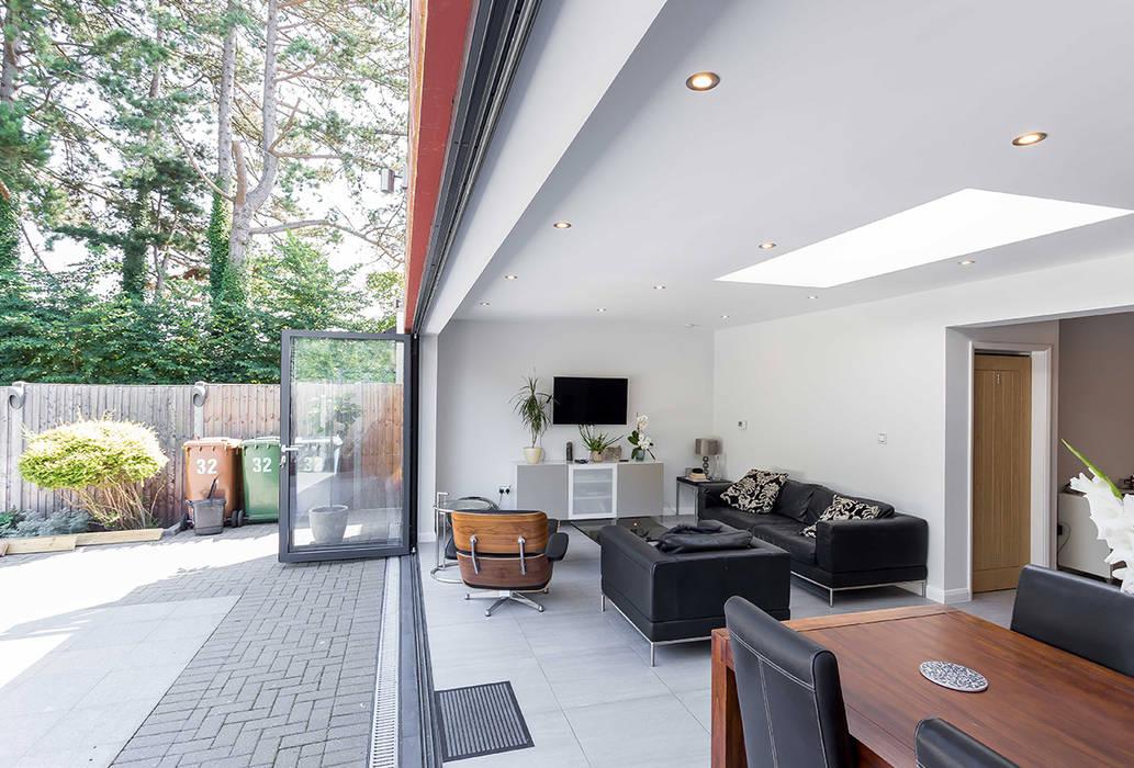 Pinner Extension Modern Living Room by The Market Design & Build Modern