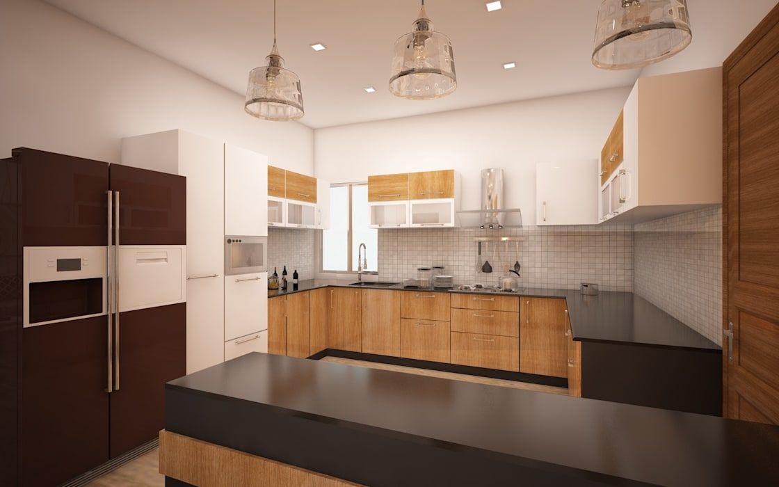 Kitchen: modern Kitchen by Regalias India Interiors & Infrastructure