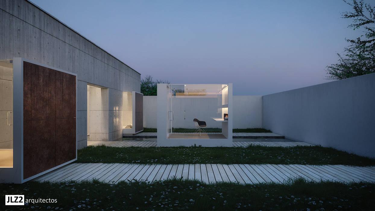 بركة مائية تنفيذ JLZ2 arquitectos, تبسيطي الخرسانة