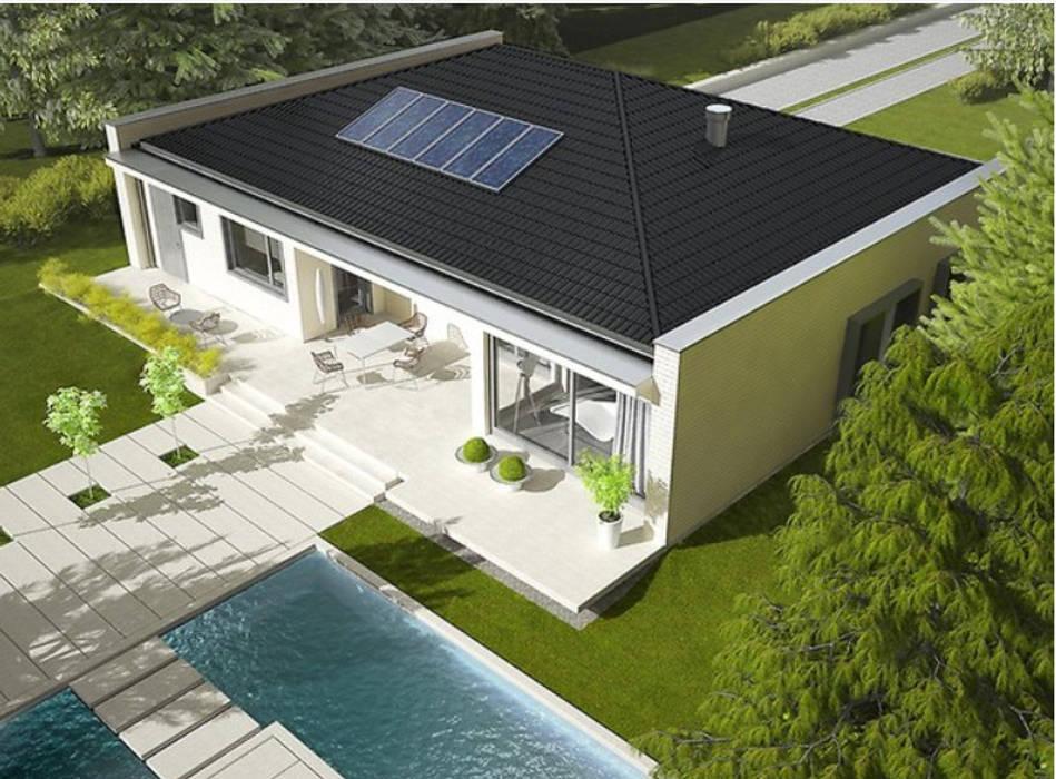 by FHS Casas Prefabricadas Modern Iron/Steel