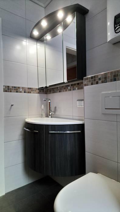 Duschvergnügen mit sitzbank auf kleinstem raum: badezimmer ...