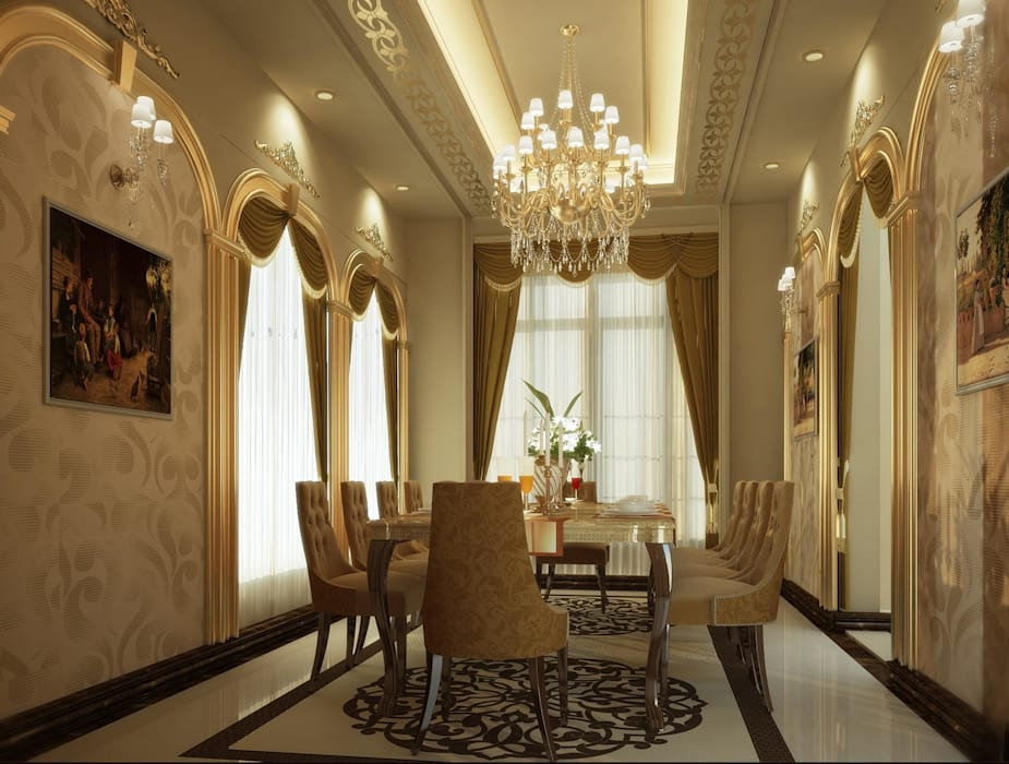 classic Dining room by SPACES Architects Planners Engineers