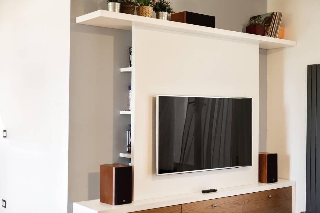 Dettaglio | parete attrezzata per tv soggiorno moderno di ...