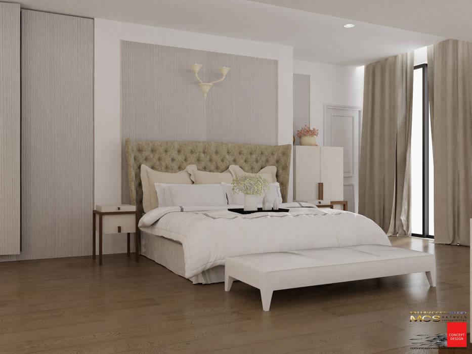 Camera padronale con bagno privato: camera da letto in stile di ...