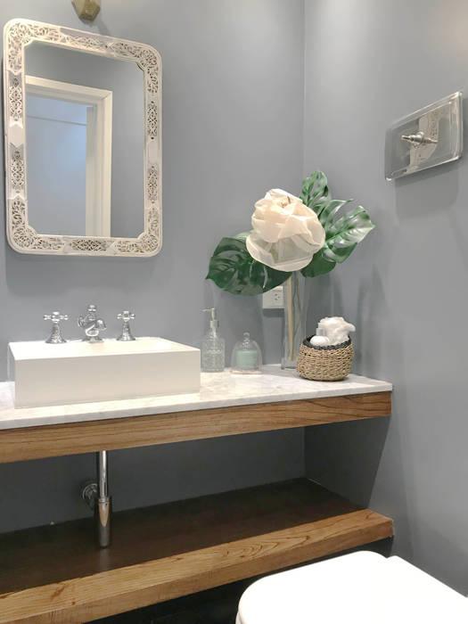 TOILETTE: Baños de estilo  por Estudio Nicolas Pierry,Ecléctico