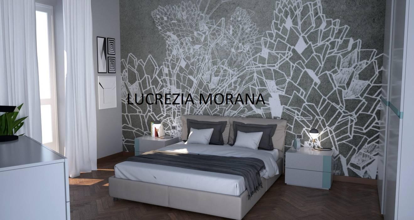 Camera Padronale : Camera da letto in stile in stile Moderno di Lucrezia Morana - ML Modellazione 3D & Rendering