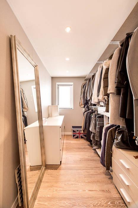 Scandinavian style dressing room by 봄디자인 Scandinavian