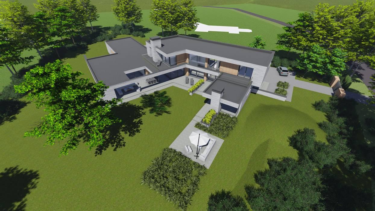 Waalre villa J:   door watkostbouwen.nl
