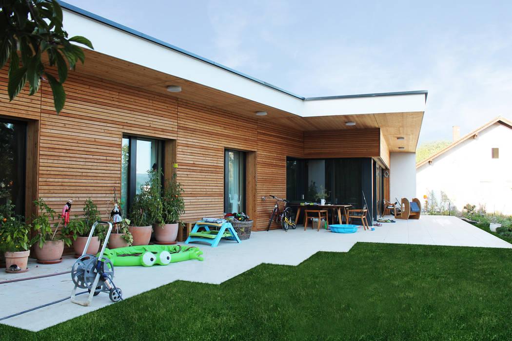 HAUS GLG:  Bungalow von AL ARCHITEKT - Architekten in Wien