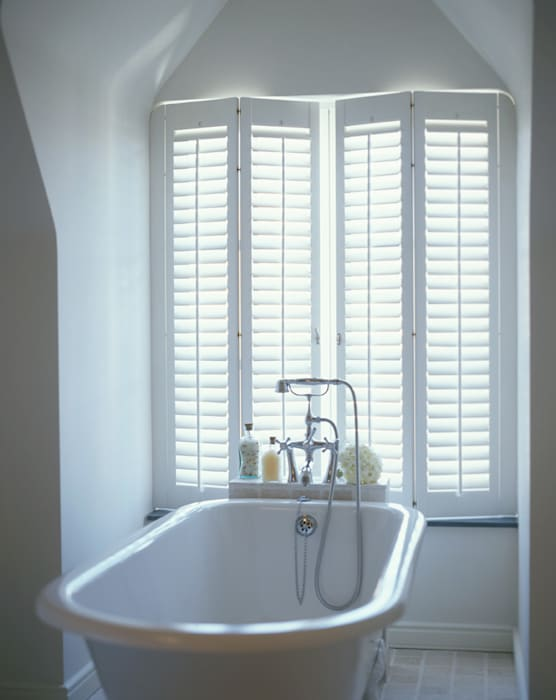 Bathroom Shutters Classic style bathroom by S:CRAFT Classic Plastic