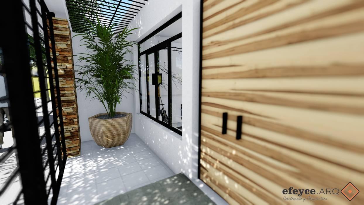Casas de estilo  de efeyce, Moderno