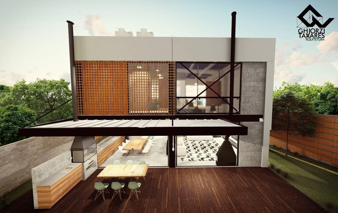 GhiorziTavares Arquitetura Prefabricated home Concrete