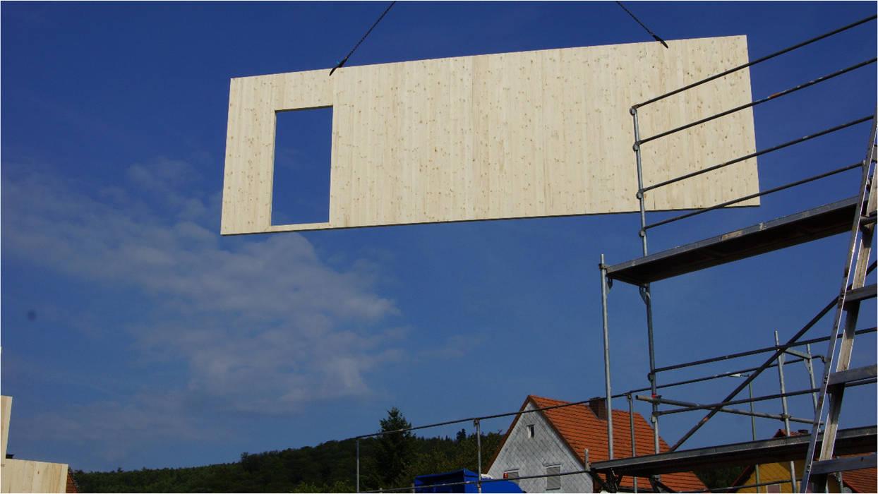 Massiv Holzhaus Versus Holzstanderbau Oder Holzrahmenbau