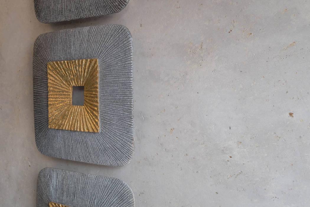 Detailansicht kalkmarmorputz. weiden: wohnzimmer von ...