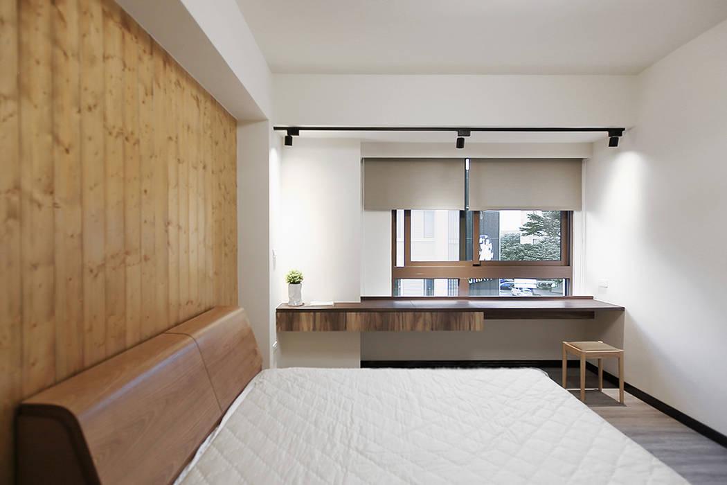 Bedroom by 森畊空間設計,