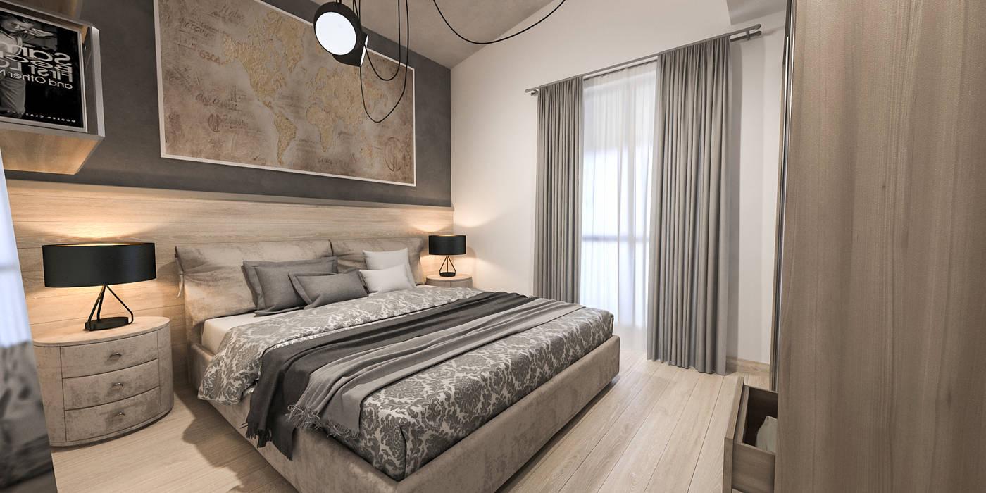 Camera ospiti camera da letto in stile di studiosagitair for Letto per gli ospiti