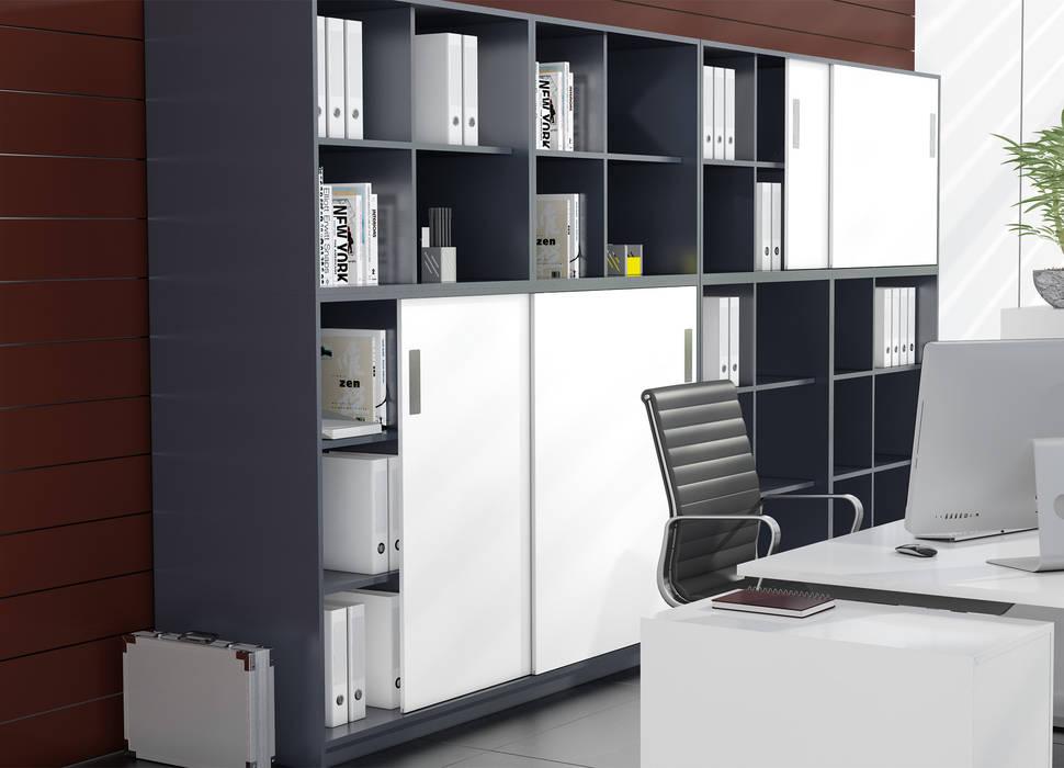 Study/office by Kuche Storage,