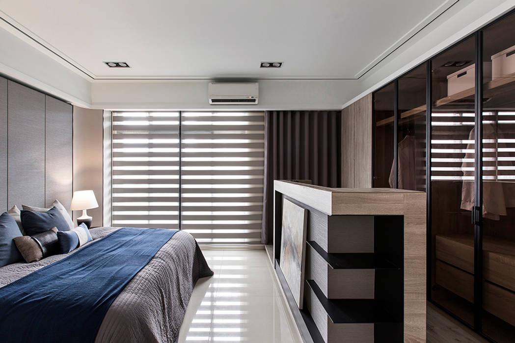 《暢意之居》 辰林設計 臥室 Blue