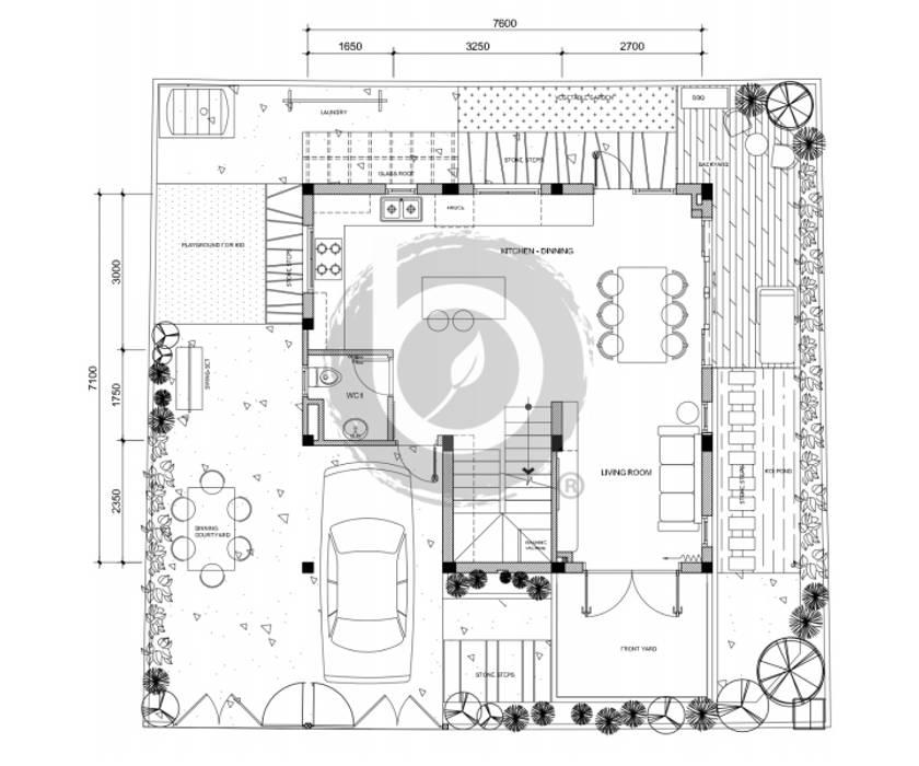 HO1719B Villa/ Bel Decor bởi Bel Decor