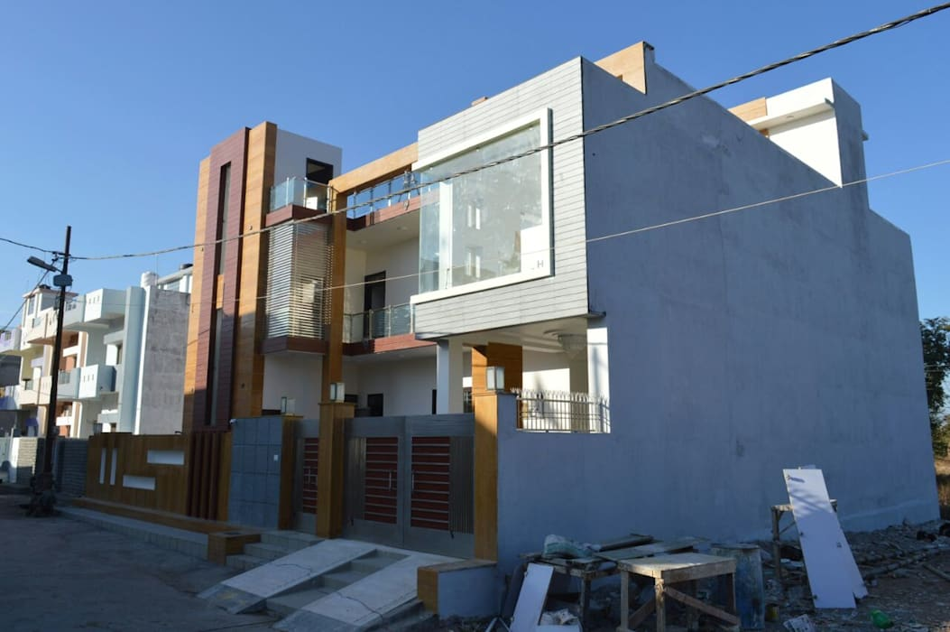 Building - Exterior Incense interior exterior pvt Ltd. Modern houses