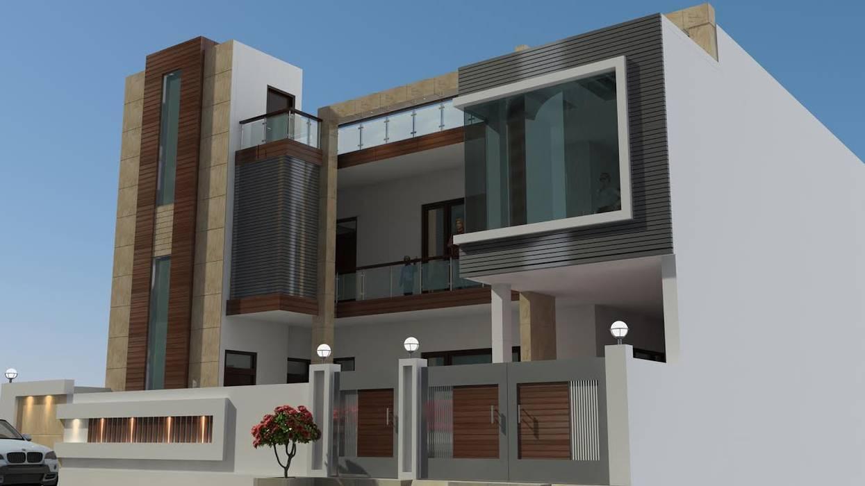 Incense interior exterior pvt Ltd. Modern houses