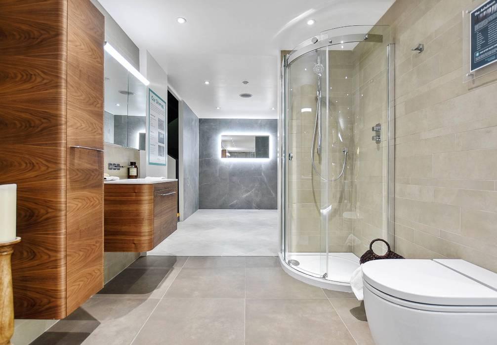 Brentford Showroom, TW8: modern Bathroom by BathroomsByDesign Retail Ltd