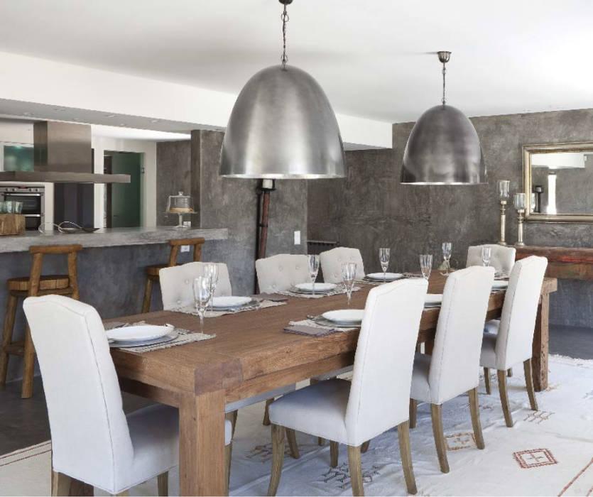 Projeto Qta. da Marinha Salas de jantar modernas por Officina Boarotto Moderno