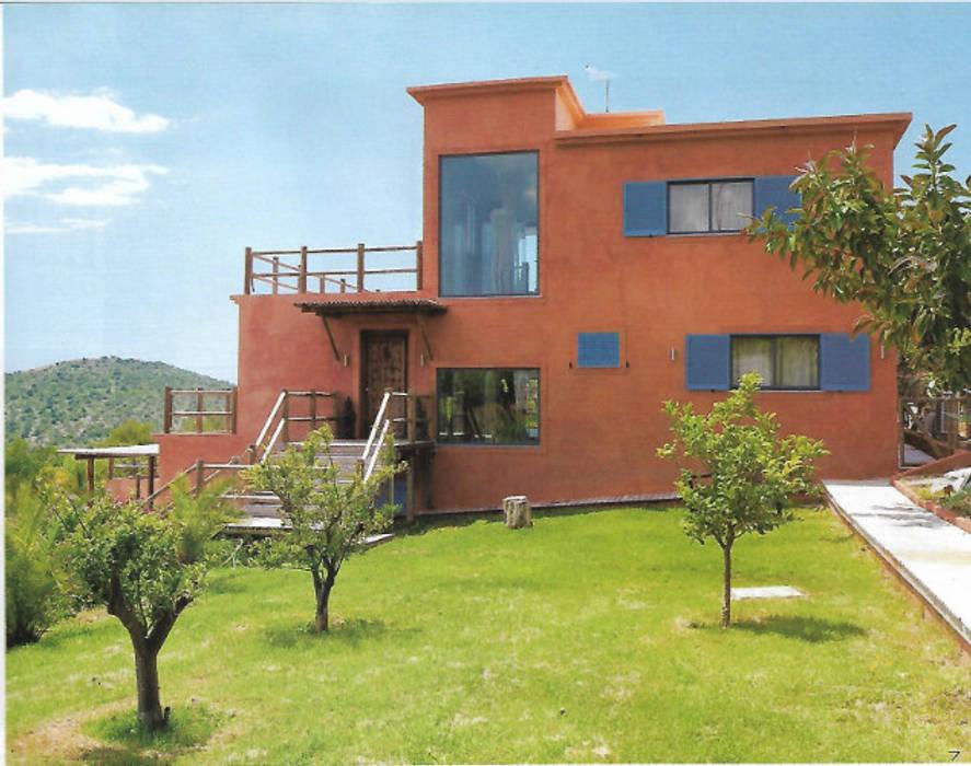 Projeto Serra de Loulé Officina Boarotto Moderne Häuser