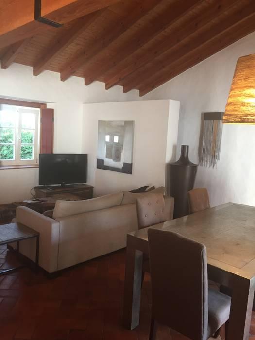 Monte Alentejo Officina Boarotto Salas de estar modernas