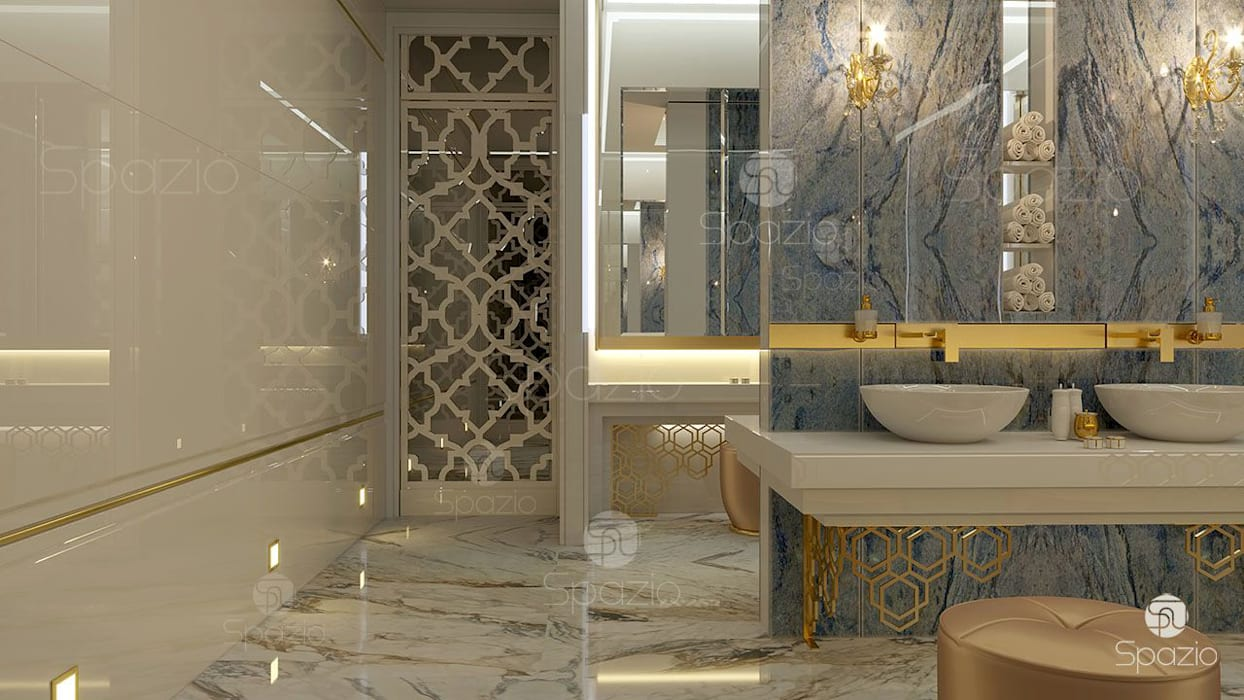 Bathroom by Spazio Interior Decoration LLC
