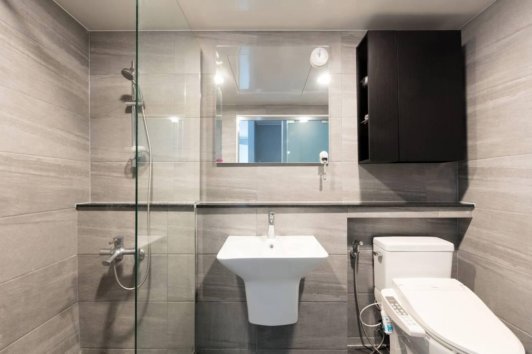 대림아파트: 한디자인 / HAN DESIGN의  욕실
