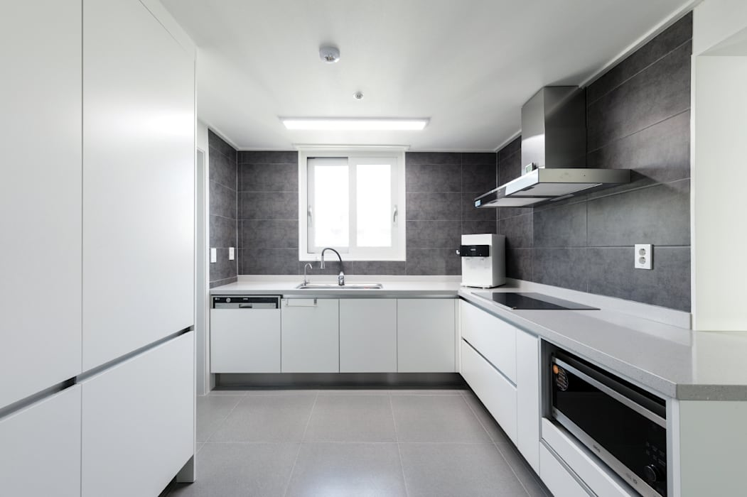 대림아파트: 한디자인 / HAN DESIGN의  주방