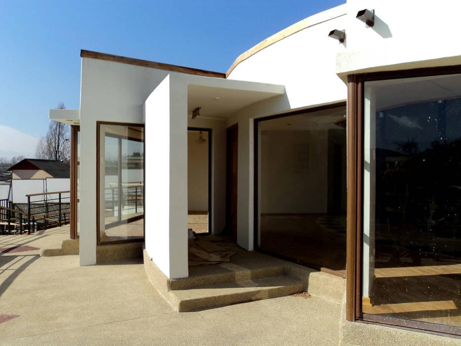 Casa Centrífuga Tetralux Arquitectos Casas de estilo minimalista