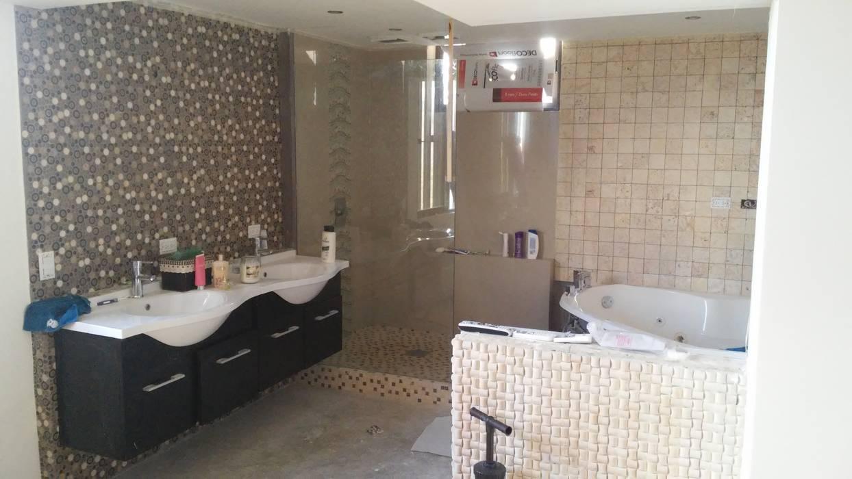 baño principal: Baños de estilo  por Arquigrafic, c.a., Minimalista