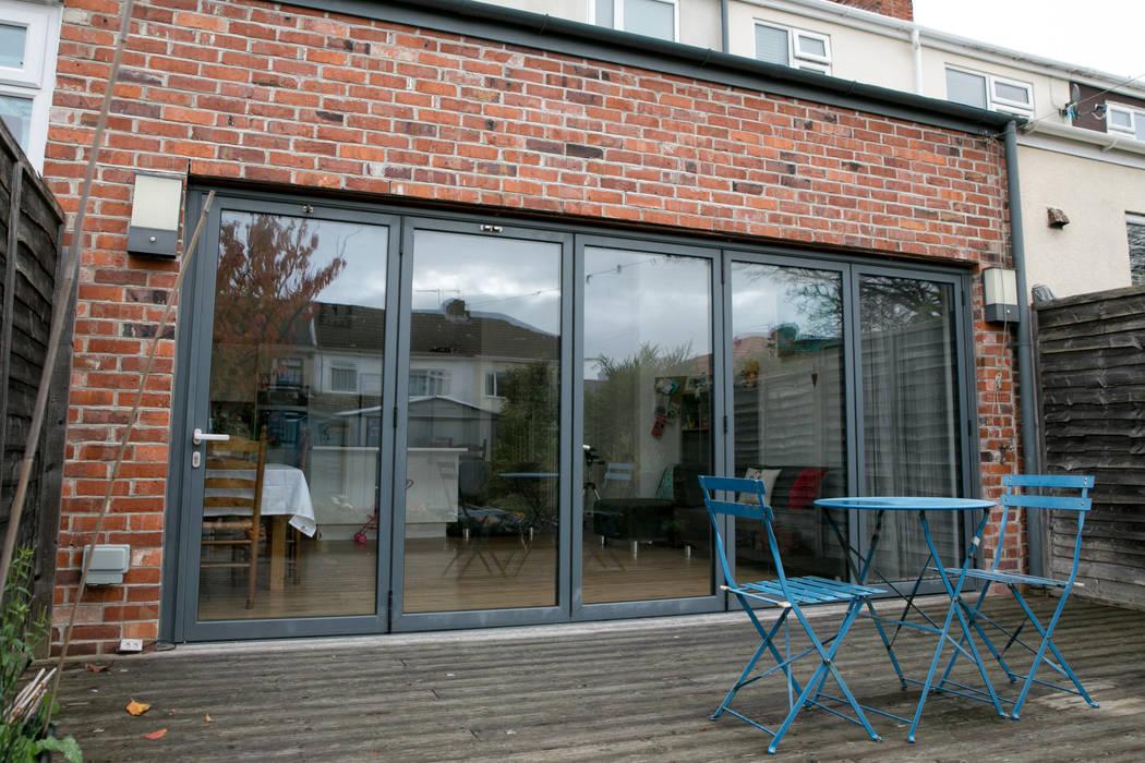Bi Folding Glazed Doors by dwell design Modern