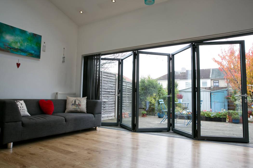 Bi Folding Doors par dwell design Moderne