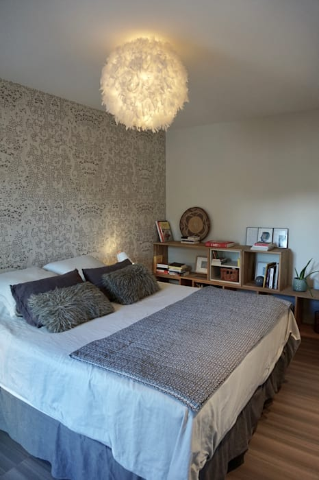 chambre parentale douce et délicate: Chambre de style de style Moderne par Backhome