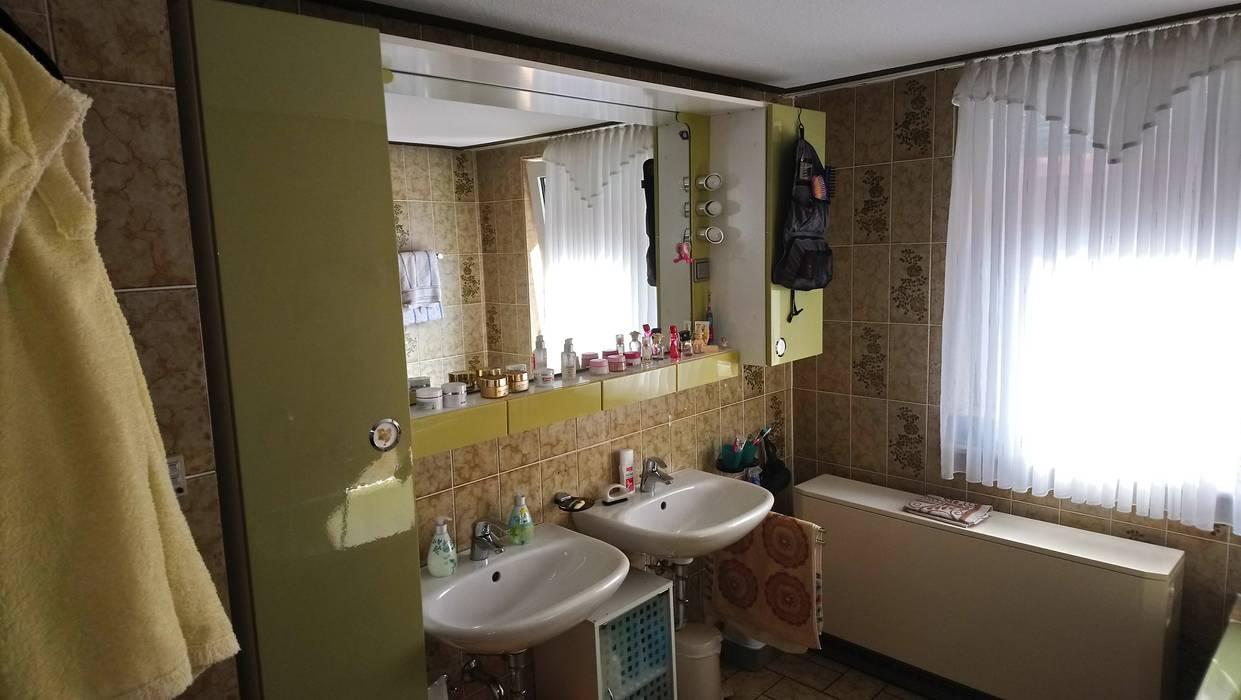 Ein bad - zwei welten von 1977 nach 2017: ausgefallene badezimmer ...