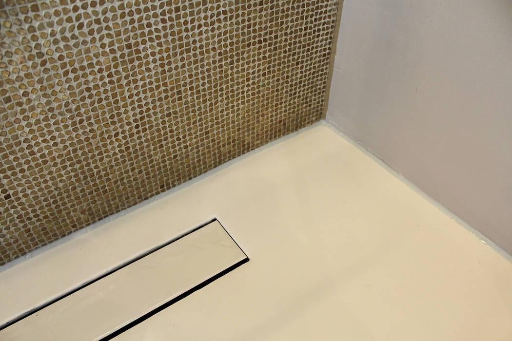 Naadloze Vloer Badkamer : Naadloze vloer badkamer badkamer door motion gietvloeren homify